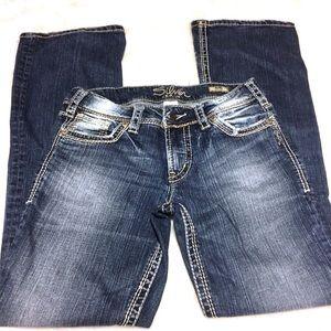 Silver Jeans Jeans - 28 x 32 Silver Suki Bootcut Jeans